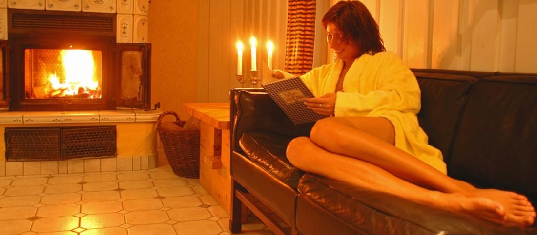 Entspannen im Wellness Bereich des Historische Krug Oeversee